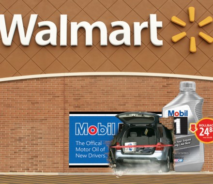 Mobil 1 – Walmart Takeover